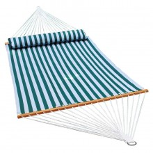 """Double Hammock"" ALGOMA Quick Dry 2780SPC with Pillow - By the Hammock Shop of Canada"