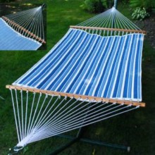 """Double Hammock"" ALGOMA 2789W135142 Quilted & Reversible - By the Hammock Shop of Canada"