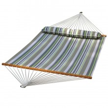 """Double Hammock"" ALGOMA Quick Dry 2789W74SPC with Pillow - By the Hammock Shop of Canada"
