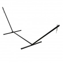 Hammock Stand (Black Tubular Steel) 15 ft.. - By the Hammock Shop of Canada