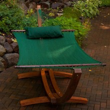 Double Hammock ALGOMA GREEN - from your hammocks shop in Canada