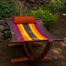 Double Hammock ALGOMA MULTICOLOR - from your hammocks shop in Canada