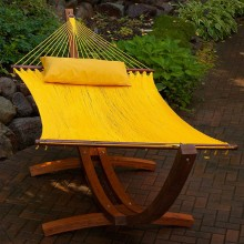 Double Hammock ALGOMA YELLOW - from your hammocks shop in Canada