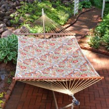 """Double Hammock"" ALGOMA 2789W157157 Quilted & Reversible - By the Hammock Shop of Canada"