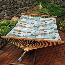"""Double Hammock"" ALGOMA 2789W7381 Quilted & Reversible - By the Hammock Shop of Canada"