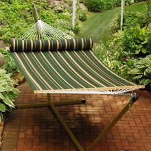"""Double Hammock"" ALGOMA 2930DL with Pillow - By the Hammock Shop of Canada"