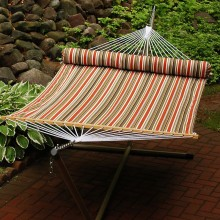 """Double Hammock"" ALGOMA 2931DL with Pillow - By the Hammock Shop of Canada"