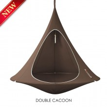 Cacoon Hanging Chair Double Taupe