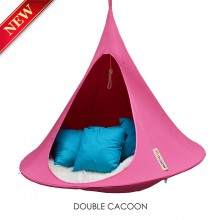 Cacoon Hanging Chair Double Fuchsia