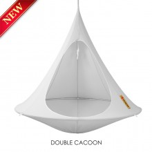 Hanging tent Cacoon Double Grey