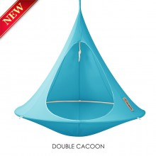 Cacoon Hanging Chair Double Turquoise