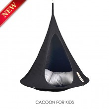 Cacoon Hanging Chair Bonsai Black