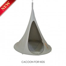 Hanging tent Cacoon Bonsai Grey