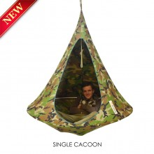 Cacoon Hanging Chair Single Camouflage
