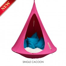 Cacoon Hanging Chair Single Fuchsia
