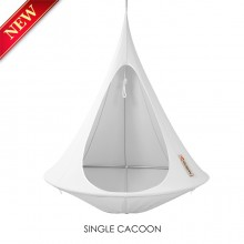 Cacoon Hanging Chair Single Grey