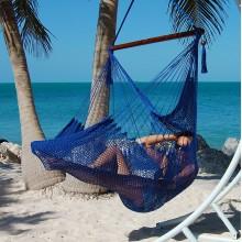 Hammock chair Large Caribbean Hammocks Blue - By the hammock shop of Canada
