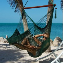 Hammock chair Large Caribbean Hammocks Green - By the hammock shop of Canada
