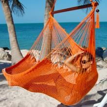 Hammock chair Large Caribbean Hammocks Orange - By the hammock shop of Canada