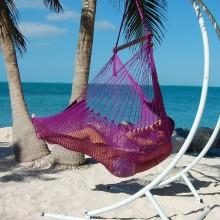 Hammock chair Large Caribbean Hammocks Purple - By the hammock shop of Canada