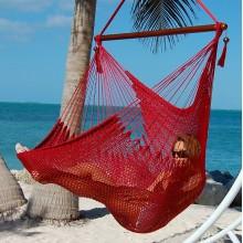 Hammock chair Large Caribbean Hammocks Red - By the hammock shop of Canada