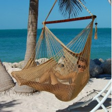 Hammock chair Large Caribbean Hammocks Tan - By the hammock shop of Canada