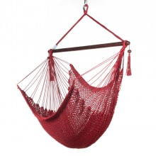 CARIBBEAN HAMMOCKS CHAIR REGULAR (RED) 40 inches - By the hammock shop of Canada