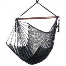 CARIBBEAN HAMMOCKS CHAIR REGULAR (Black) 40 inches - By the hammock shop of Canada