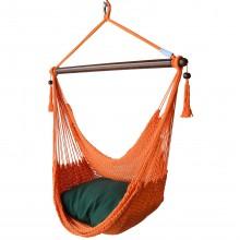 CARIBBEAN HAMMOCKS CHAIR REGULAR (Orange) 40 inches - By the hammock shop of Canada