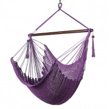 CARIBBEAN HAMMOCKS CHAIR REGULAR (Purple) 40 inches - By the hammock shop of Canada