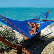 CARIBBEAN HAMMOCK JUMBO (Blue) - By the Hammock Shop of Canada