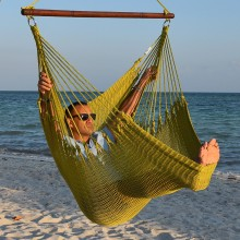 CARIBBEAN HAMMOCKS CHAIR JUMBO (Olive) - By the hammock shop of Canada