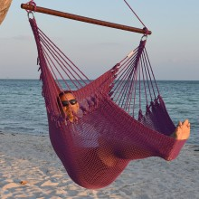 CARIBBEAN HAMMOCKS CHAIR JUMBO (Purple) - By the hammock shop of Canada