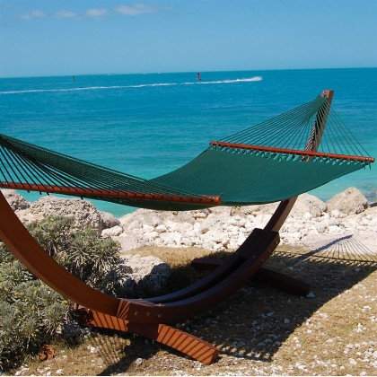 CARIBBEAN HAMMOCK JUMBO (Green) - By the Hammock Shop of Canada