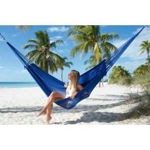 """Family Hammock"" Mayan Blue from Caribbean Hammocks - By the hammock shop of Canada"