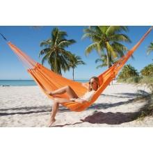 """Family Hammock"" Mayan Orange from Caribbean Hammocks - By the hammock shop of Canada"