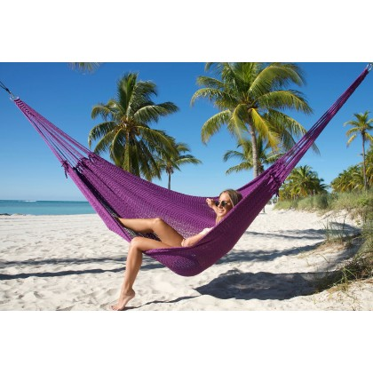 Caribbean Mayan Hammock Purple - from your hammocks shop in Canada