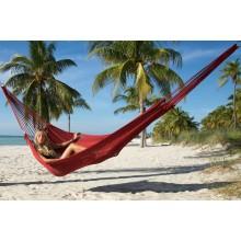 """Family Hammock"" Mayan Red from Caribbean Hammocks - By the hammock shop of Canada"