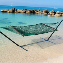 Caribbean Rope Hammock (Green) - By the Hammock Shop of Canada