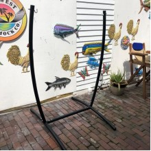 Steel Hammock Chair Stand - By the hammock shop of Canada