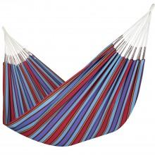 Colombian Hammock Double - Blue Stripe