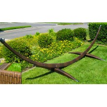Wicker  Arc Hammock Stand - By the hammock shop of Canada