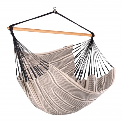 La Siesta Hammock Chair Kingsize ( Habana Zebra ) - By the Hammock Shop of Canada