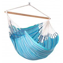La Siesta Hammock Chair Kingsize ( Habana Azure ) - By the Hammock Shop of Canada