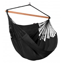 La Siesta Hammock Chair Kingsize ( Habana Onyx ) - By the Hammock Shop of Canada