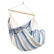 La Siesta Hammock Chair Large (Domingo Sea Salt) - By the Hammock Shop of Canada