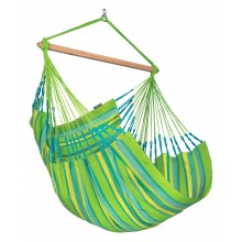 La Siesta Hammock Chair Large (Domingo Lime) - By the Hammock Shop of Canada