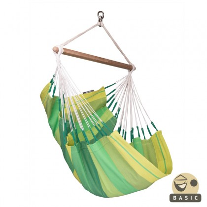 """Hanging Chair Basic"" La Siesta Orquidea Jungle - By the Hammock Shop of Canada"
