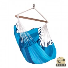 """Hanging Chair Basic"" La Siesta Orquidea Lagoon - By the Hammock Shop of Canada"