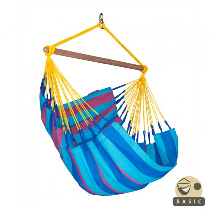 """Hanging Chair Basic"" La Siesta Sonrisa Prune - By the Hammock Shop of Canada"